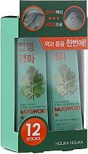 Parfémy, Parfumerie, kosmetika Bublinková jílová maska - Holika Holika Pure Essence Mugwort Bubble Cleansing Pack