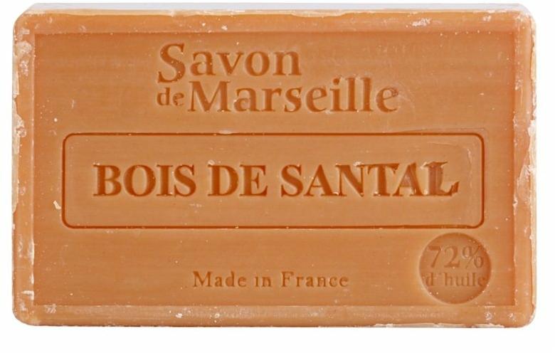 """Přírodní mýdlo """"Santalové dřevo"""" - Le Chatelard 1802 Sandal Wood Soap"""