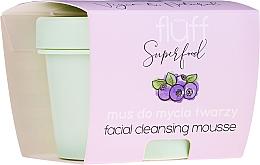Parfémy, Parfumerie, kosmetika Čisticí pleťová pěna - Fluff Facial Cleansing Mousse Wild Blueberry