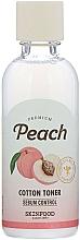 Parfémy, Parfumerie, kosmetika Pleťový toner - Skinfood Premium Peach Cotton Toner