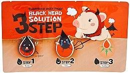 Parfémy, Parfumerie, kosmetika 3 kroky k odstranění černých teček - Elizavecca Milky Piggy Black Head Solution 3 Step