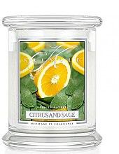 Parfémy, Parfumerie, kosmetika Vonná svíčka ve skle - Kringle Candle Citrus And Sage