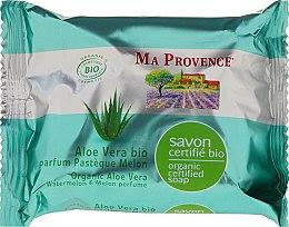 Parfémy, Parfumerie, kosmetika Bio organické mýdlo s Aloe Vera a melounem a melounovými vůněmi - Ma Provence Organic Soap