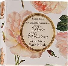 Parfémy, Parfumerie, kosmetika Mýdlo přírodní Růže - Saponificio Artigianale Fiorentino Rose Blossom Soap