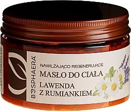 Parfémy, Parfumerie, kosmetika Hydratační a regenerační olej na tělo Levandule s heřmánkem - Bosphaera