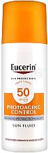 Parfémy, Parfumerie, kosmetika Fluid antivěkový opalovací - Eucerin Sun Protection Photoaging Control Sun Fluid SPF 50