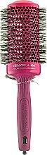 Parfémy, Parfumerie, kosmetika Profesionální keramický kartáč na vlasy 55 mm, černý - Olivia Garden Ceramic+Ion Pink d 55