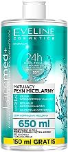 Parfémy, Parfumerie, kosmetika Micelární voda pro normální a kombinovanou pleť - Eveline Cosmetics Facemed+