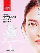 Parfémy, Parfumerie, kosmetika Maska na obličej s proteiny kozího mléka - Czyste Piekno Hydro Therapia Face Mask