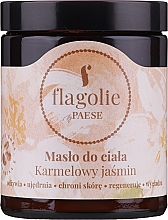 Parfémy, Parfumerie, kosmetika Tělové máslo Karamelový jasmín - Flagolie by Paese Caramel Jasmine