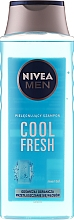 "Parfémy, Parfumerie, kosmetika Šampon pro muže ""Extrémní čerstvost"" - Nivea For Men Cool Fresh Mentol Shampoo"