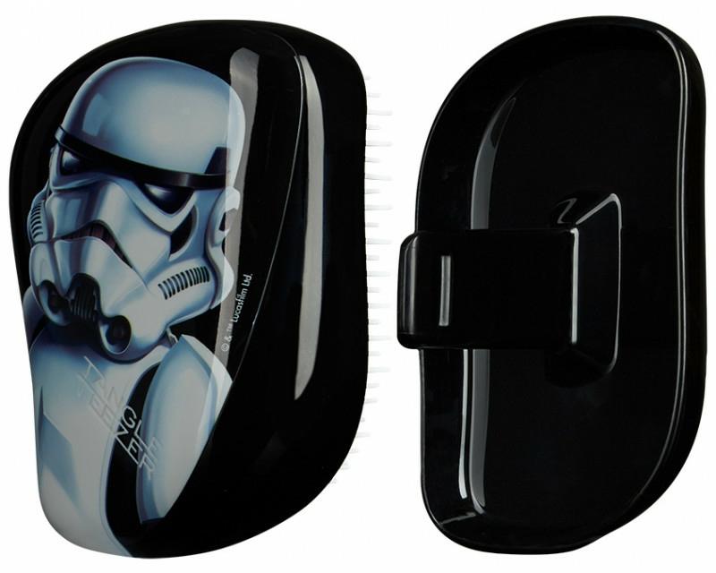 Kompaktní kartáč na vlasy - Tangle Teezer Compact Styler Star Wars Storm Trooper Brush — foto N1