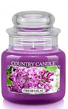 """Parfémy, Parfumerie, kosmetika Vonná svíčka """"Svěží šeřík"""" (sklenice) - Country Candle Fresh Lilac"""