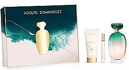 Parfémy, Parfumerie, kosmetika Adolfo Dominguez Unica - Sada (edt/100ml + b/lot/75ml + edt/mini/10ml)