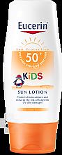 Parfémy, Parfumerie, kosmetika Opalovací krém pro děti s faktorem UV ochrany SPF50 - Eucerin Sun Kids Lotion LSF 50+