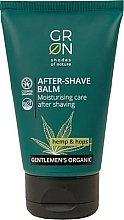Parfémy, Parfumerie, kosmetika Balzám po holení - GRN Gentlemen's Organic Hemp & Hop After-Shave Balm