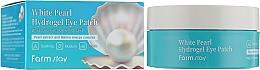 Parfémy, Parfumerie, kosmetika Hydrogelové náplasti pod oči s extraktem z perly - FarmStay White Pearl Hydrogel Eye Patch