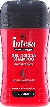 Parfémy, Parfumerie, kosmetika Sprchový gel a šampon v jednom s ženšenovým extraktem - Intesa Classic Black Shower Shampoo Gel Revitalizing
