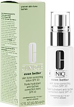 Parfémy, Parfumerie, kosmetika Pleťová emulze proti pigmentovým skvrnám - Clinique Even Better Skin Tone Correcting Lotion