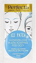 Parfémy, Parfumerie, kosmetika Hydrogelové náplasti pod oči - DAX Perfecta Ice Eye Patch