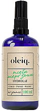 Parfémy, Parfumerie, kosmetika Hydrolát z máty na obličej, tělo a vlasy - Oleiq Hydrolat Mint