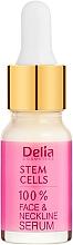 Parfémy, Parfumerie, kosmetika Intenzivní zpevňující a protivráskové sérum s kmenovými buňkami na obličej, krk a dekolt - Delia Face Care Stem Sells Face Neckline Intensive Serum