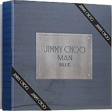 Parfémy, Parfumerie, kosmetika Jimmy Choo Man Blue - Sada (edt/100ml + ash/balm/100ml + edt/7.5ml)