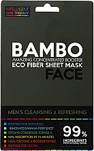 Parfémy, Parfumerie, kosmetika Osvěžující maska s mořskou solí a bambusovým extraktem - Beauty Face Cleansing & Refreshing Compress Mask For Man