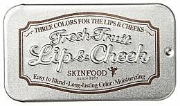 Parfémy, Parfumerie, kosmetika Balzám 2v1 - Skinfood Fresh Fruit Lip & Cheek Trio