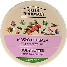 Parfémy, Parfumerie, kosmetika Krém-olej na tělo Argan a Fig - Green Pharmacy