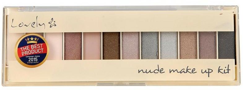 Paleta stínů - Lovely Nude Make Up Kit — foto N1