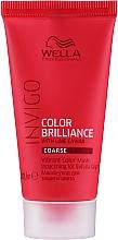 Parfémy, Parfumerie, kosmetika Maska pro jas barvy tvrdých zbarvených vlasů - Wella Professionals Invigo Color Brilliance Vibrant Color Mask Coarse