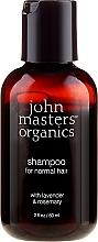 """Parfémy, Parfumerie, kosmetika Šampon na vlasy """"Levandule a rozmyrýna"""" - John Masters Organics Lavender Rosemary Shampoo (mini)"""