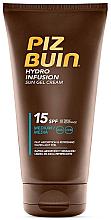 Parfémy, Parfumerie, kosmetika Opalovací tělový gel krém - Piz Buin Hydro Infusion Sun Gel Cream SPF15