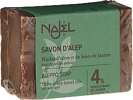 Parfémy, Parfumerie, kosmetika Mýdlo - Najel 4% Aleppo Soap