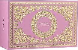 Parfémy, Parfumerie, kosmetika Versace Bright Crystal - Sada (edt/90ml + edt/10ml + pounch)
