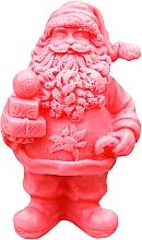 """Parfémy, Parfumerie, kosmetika Ručně vyráběné přírodní mýdlo """"Svatý Mikuláš s dárky"""" červené, s vůní třešně - LaQ Happy Soaps Natural Soap"""