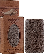 Parfémy, Parfumerie, kosmetika Pemza, 84x44x32mm, Terracotta Brown - Vulcan Pumice Stone