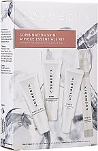 Parfémy, Parfumerie, kosmetika Sada - Cosmedix Combination Skin 4-Piece Essentials Kit (f/cleanser/15ml + f/ser/15ml + f/ser/15ml + f/mist/15ml)