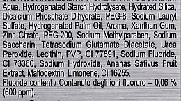 Zubní pasta s extrémně bělícím účinkem - Splat Special Extreme White Toothpaste — foto N4
