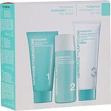 Parfémy, Parfumerie, kosmetika Sada - Germaine de Capuccini Purexpert Natural Perfect 1-2-3 Oily (f/foam/30ml + fluid/50ml + f/cr/50ml)