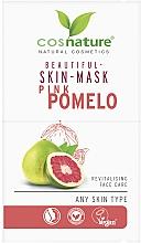 Parfémy, Parfumerie, kosmetika Pleťová maska Růžové pomelo - Cosnature Beautiful Skin Mask Pink Pomelo