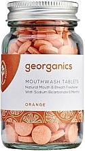 """Parfémy, Parfumerie, kosmetika Tablety na oplachování ústní dutiny """"Pomeranč"""" - Georganics Mouthwash Tablets Refill Pack Orange"""