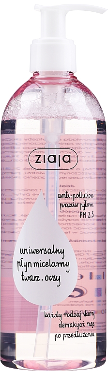 Micelární voda - Ziaja Micellar Water Universal For Face And Eyes All Skin Types