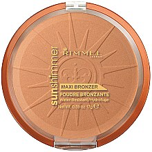 Parfémy, Parfumerie, kosmetika Pudr na obličej - Rimmel Sunshimmer Maxi Bronzer