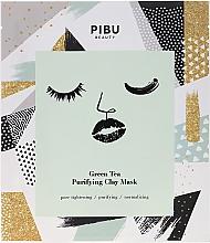 Parfémy, Parfumerie, kosmetika Jílová maska se zeleným čajem - Pibu Beauty Green Tea Purifying Clay Mask