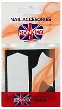 Parfémy, Parfumerie, kosmetika Šablony na francouzskou manikúru - Ronney Professional