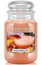 Parfémy, Parfumerie, kosmetika Vonná svíčka ve skle - Country Candle Peach Bellini