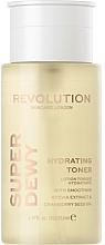 Parfémy, Parfumerie, kosmetika Zjemňující a zvlhčující pleťový toner - Revolution Skincare Superdewy Moisturizing Toner