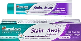 Zubní pasta - Himalaya Herbals Stain-Away Toothpaste — foto N1